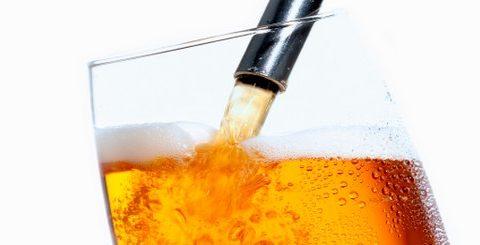 histoire de la bière pression