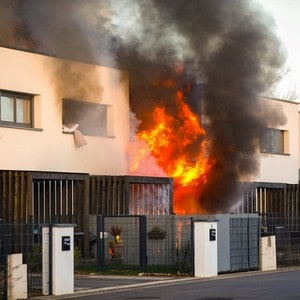 causes des incendies domestiques
