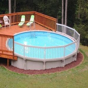 piscine hors sol originale